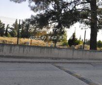 panel çit mezarlık kenarı